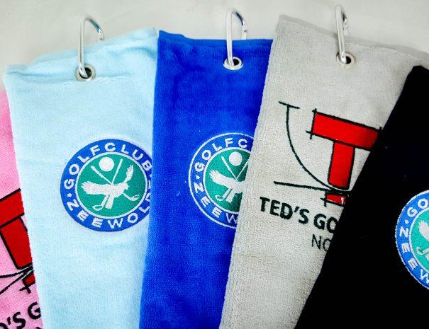 Golfhanddoeken met logo