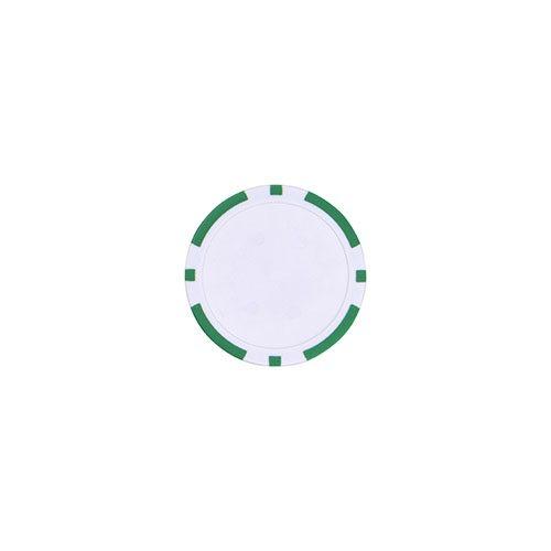 Pokerchip marker Groen