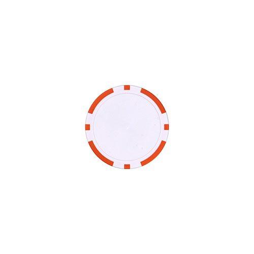 Pokerchip marker Oranje