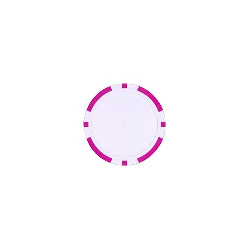 Pokerchip marker Roze